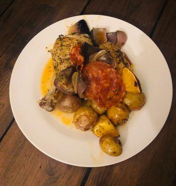 Gluten free Spanish Chicken Recipe