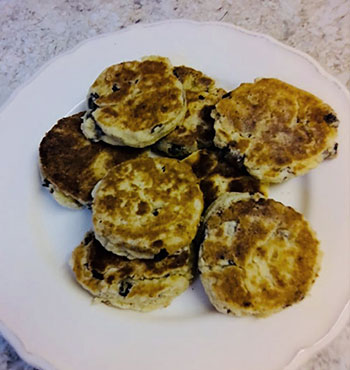 Gluten Free Welsh Griddle Cakes Recipe