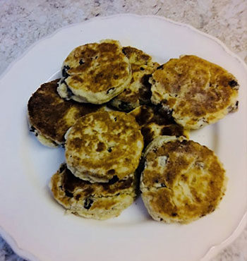 gluten free welsh griddle cakes