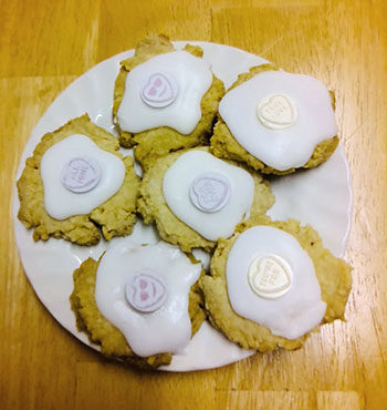 gluten free melting moment biscuits