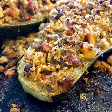 Gluten Free Stuffed Marrow Recipe