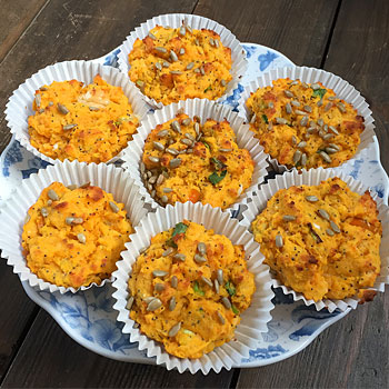 Gluten-Free Sweet Potato Muffins Recipe