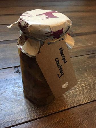 gluten free marrow chutney